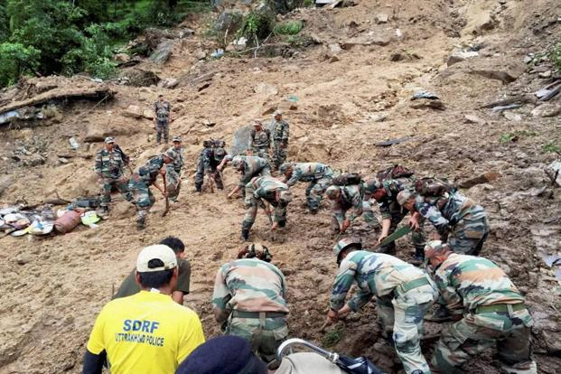 Relief and rescue operation underway in Uttarakhand