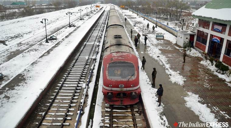 Train services in Kashmir to resume today