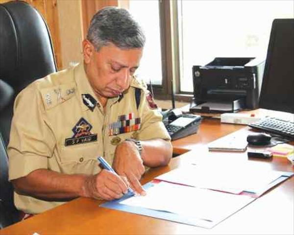 SP Vaid appointed as new J&K chief