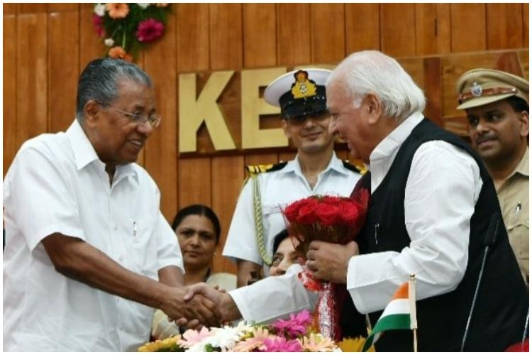 Arif Mohammad Khan assumed charge as Kerala Governor