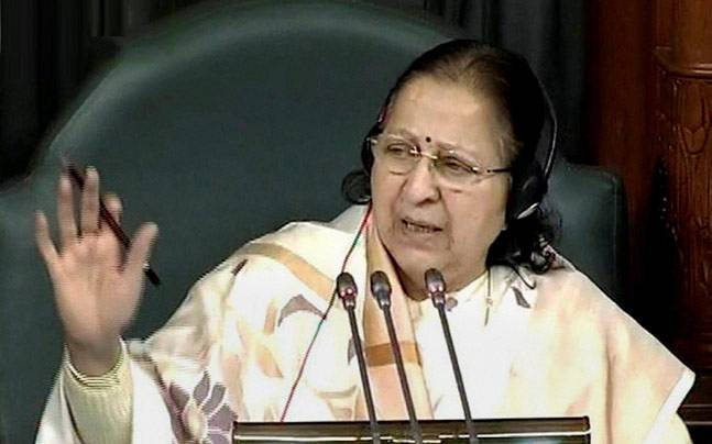 protestsdiscussioncanthappensimultaneously:sumitramahajan