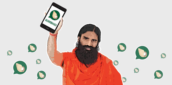 Kimbho messaging app disappears from Google Play store which was launched by Ramdev