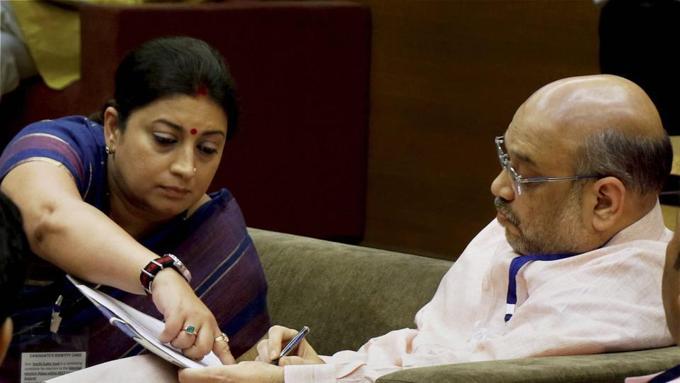BJP chief Amit Shah and union minister Smriti Irani will visit the Congress bastion Amethi