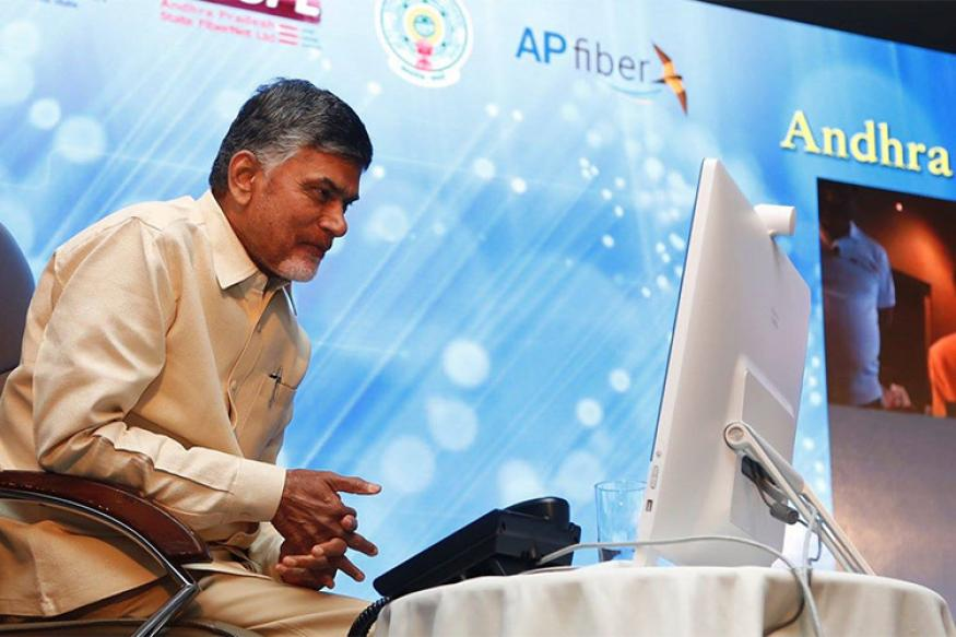 Internet, TV facility would be provided to all houses in state: Chandrababu Naidu