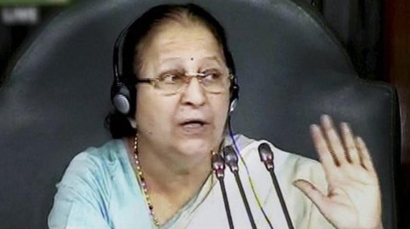 Sumitra Mahajan  asks AAP MP Mann not to attend Parliament house