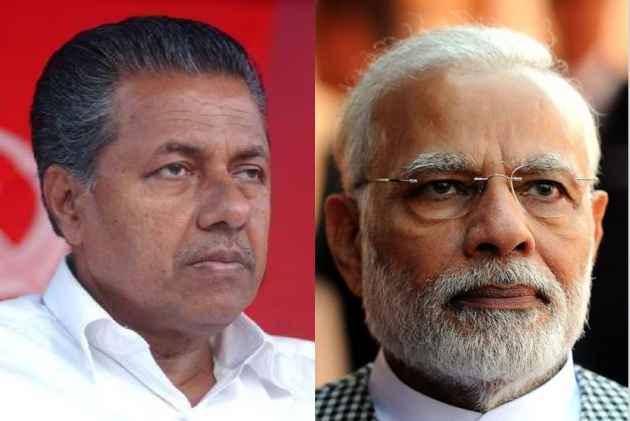 Kerala CM Pinarayi Vijayan congratulates PM Modi on victory