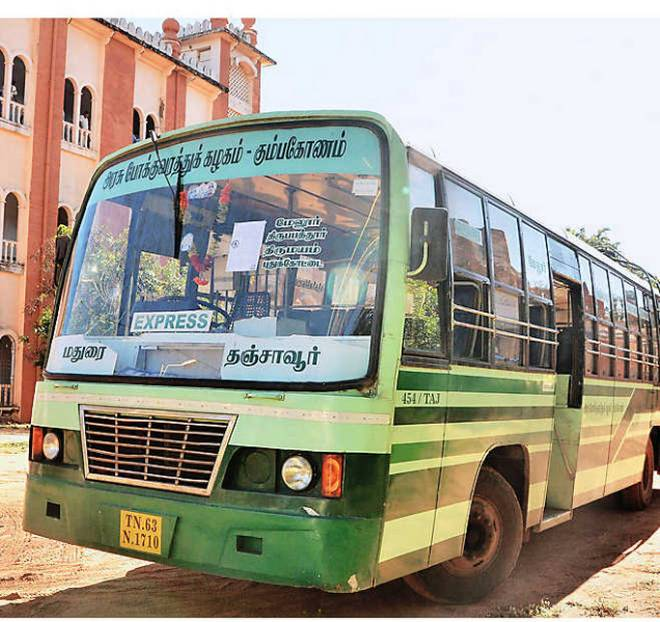 Bus services return to normal in Tamil Nadu