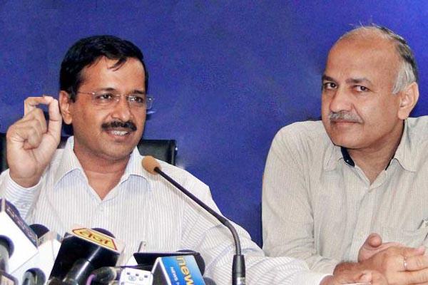 Arvind Kejriwal  Congratulates his Deputy Manish Sisodia