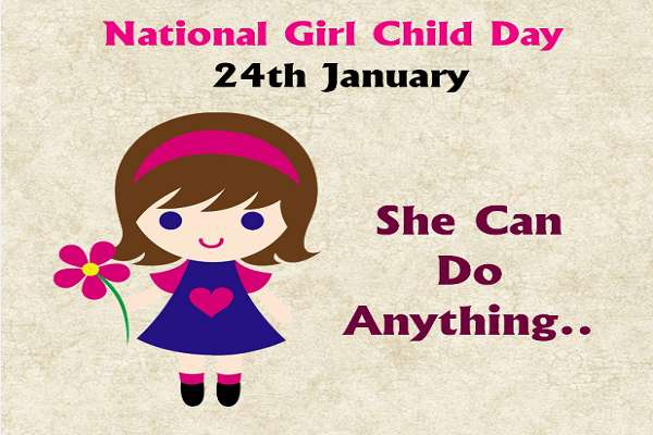 National Girl Child Day being celebrated across country today