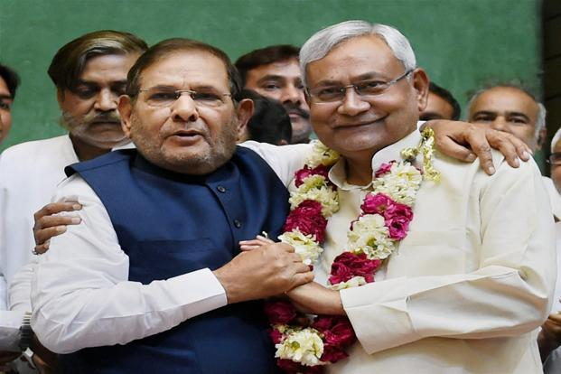 Nitish takes over as JD(U) President