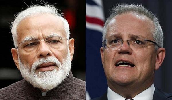 PM Modi Holds Telephonic Conversation with Australian PM Scott Morrison