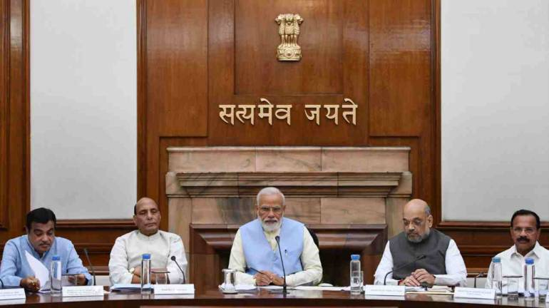 Union Cabinet meets at PM