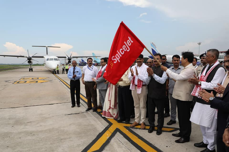 Assam CM Sarbananda Sonowal flags off international flight