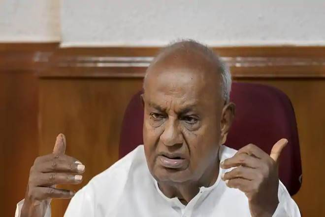HD Deve Gowda blames Siddaramaiah for collapse of Congress-JD(S) coalition in Karnataka