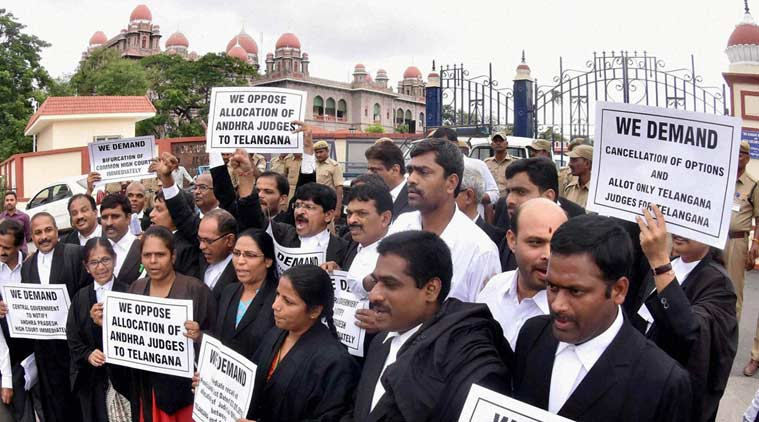 Judicial officers call off their strike in Telanagana