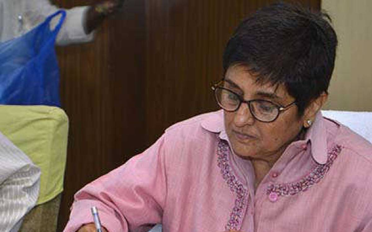 Pondy Lt Guv Kiran Bedi tests negative for Covid-19