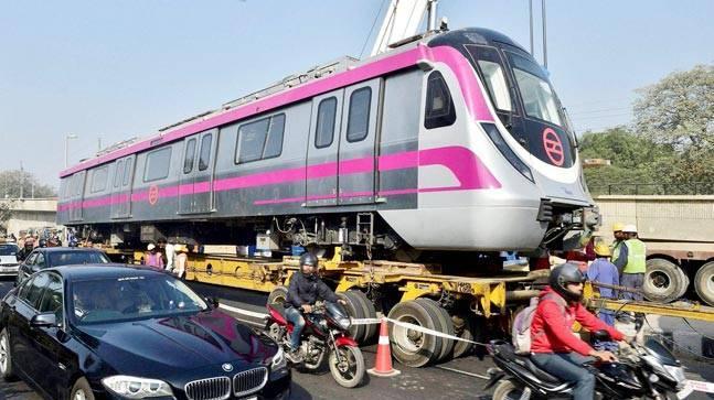 Delhi Metro Pink Line to open today