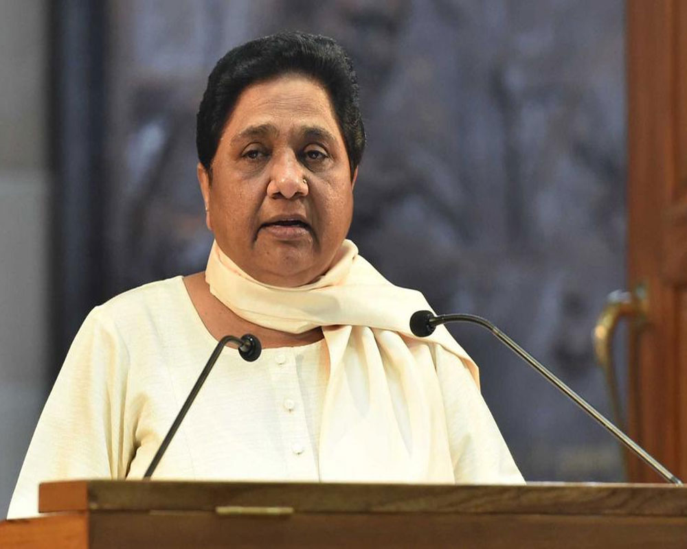 Mayawati says Congress NYAY scheme is not a permanent solution for eliminating poverty