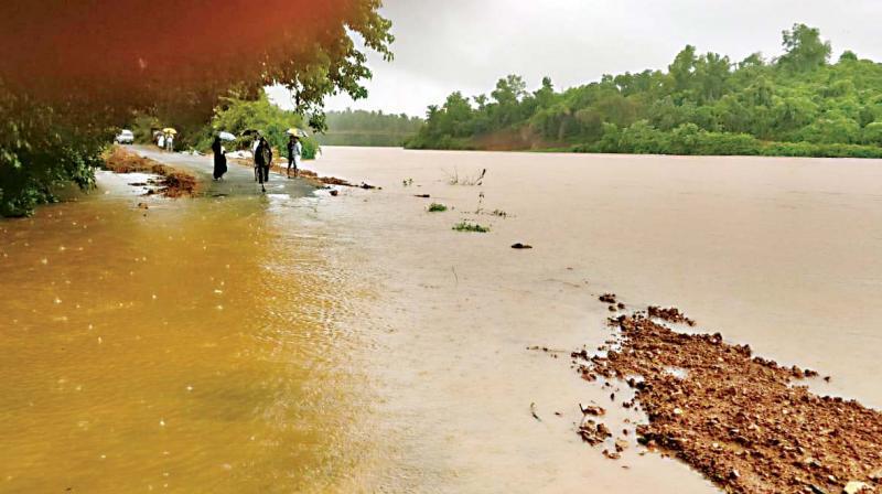 Dakshina Kannada, Udupi districts receive heavy rains
