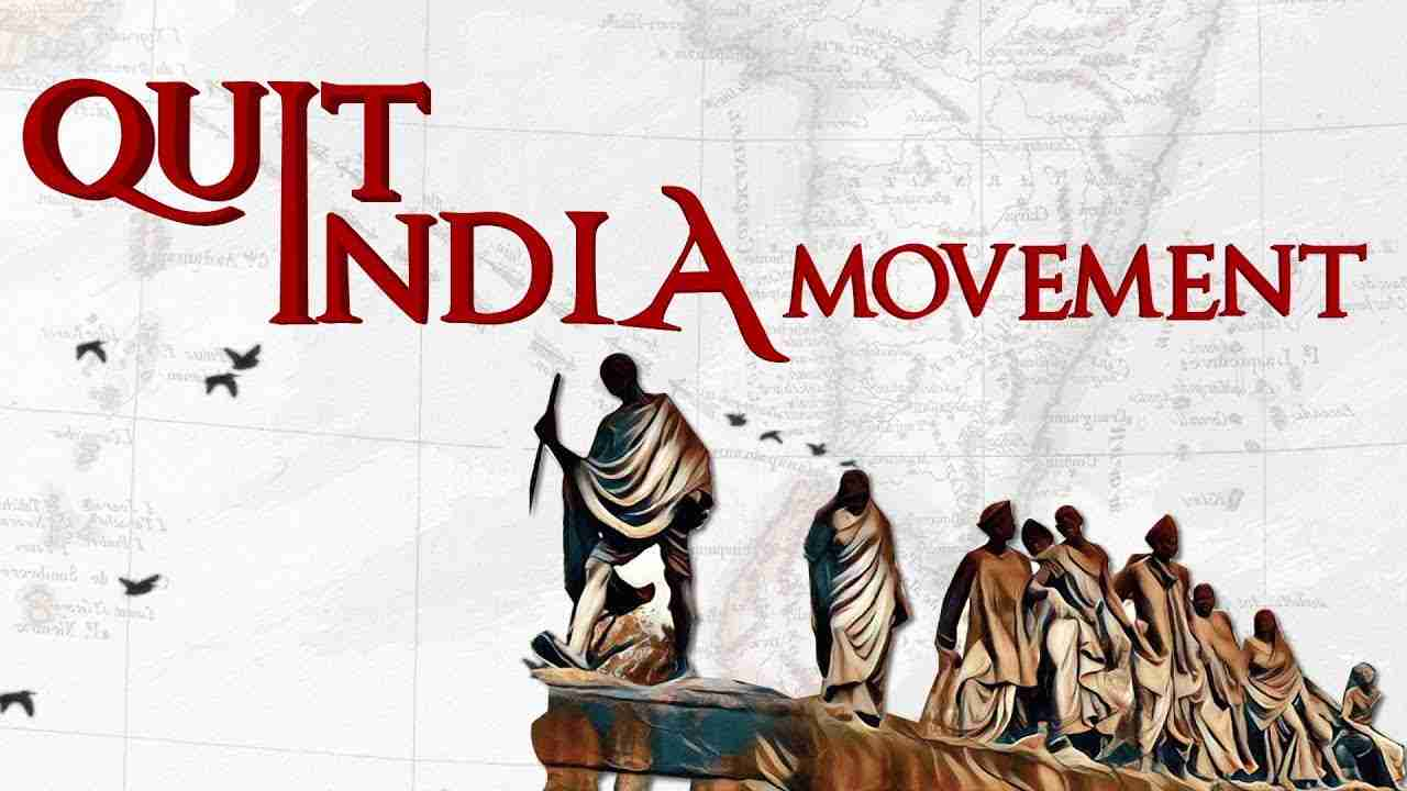 Today is 78th anniversary of Quit India movement