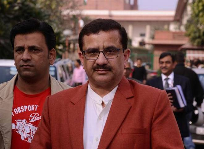 UP Shia Central Waqf Board chairman Wasim Rizvi donates Rs 51,000 for Ram temple in Ayodhya