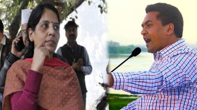 Kapil Mishra ends hunger strike, says Arvind Kejriwal is hiding behind wife Sunita