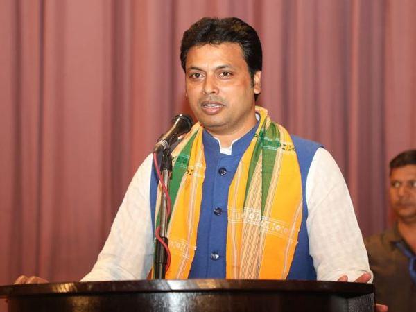 Diplab Deb to be sworn in as Tripura CM today