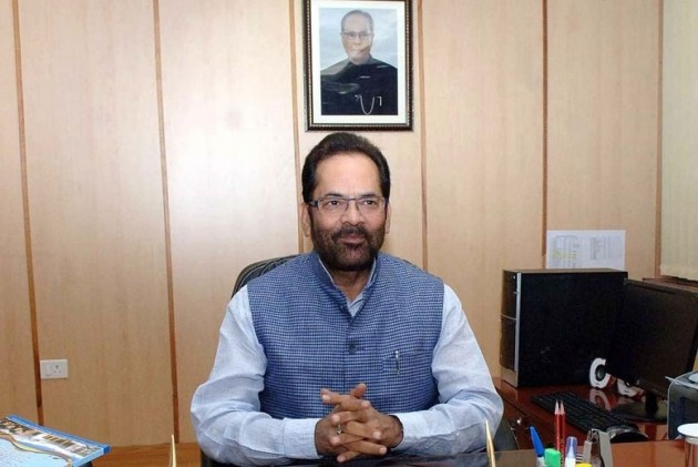 Fabricated stories being created against Modi, Amit Shah: Mukhtar Abbas Naqvi