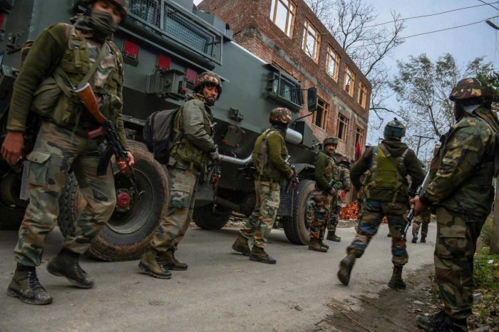 Two unidentified terrorists killed in South Kashmir's Pulwama district