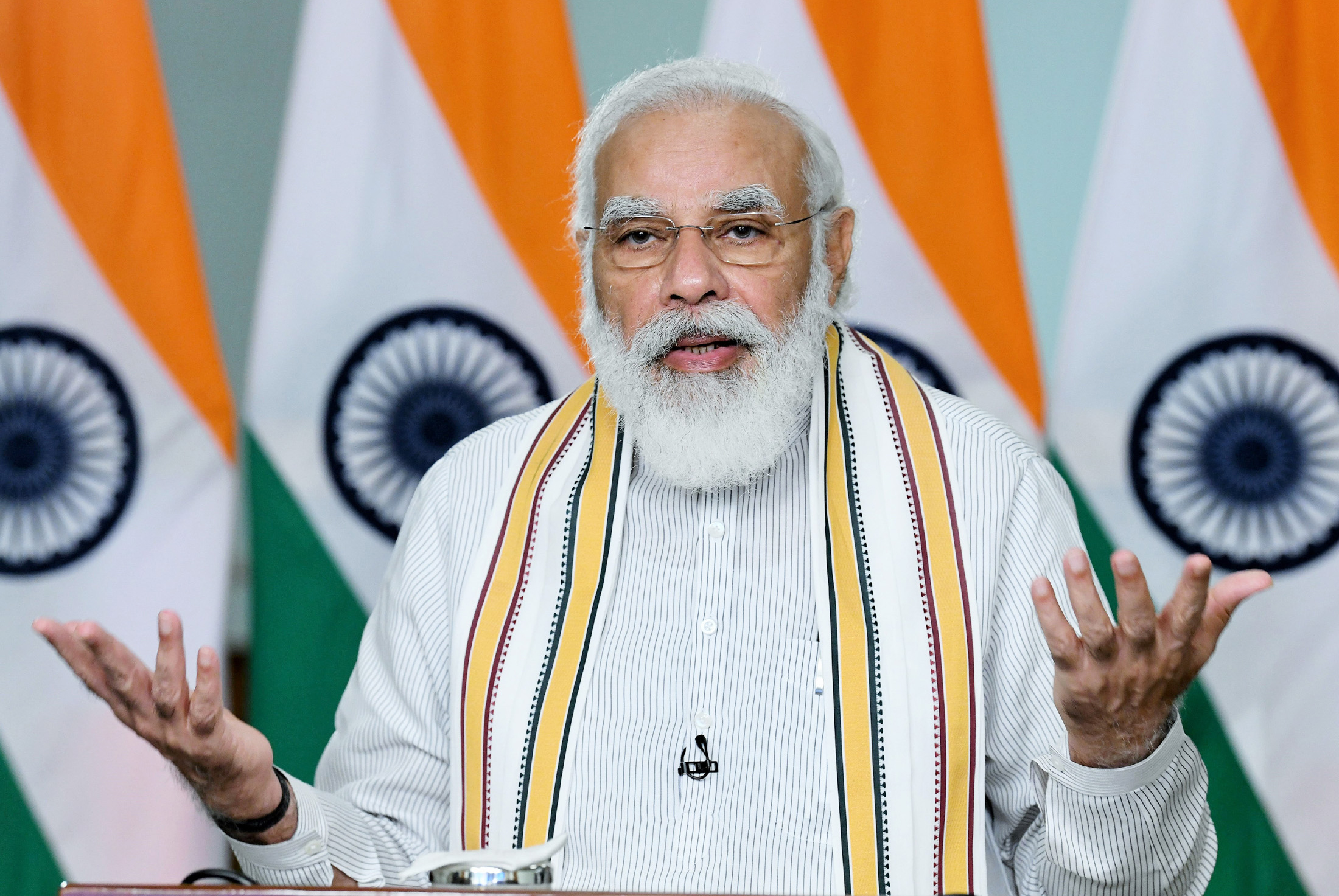 PM Modi assures farmers that MSP and govt procurement will continue