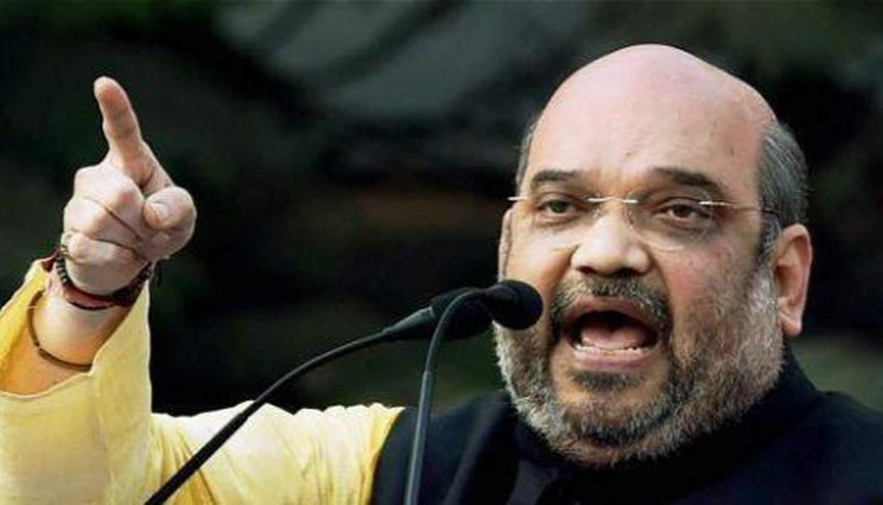 Amit Shah questions Congress record on tribal welfare