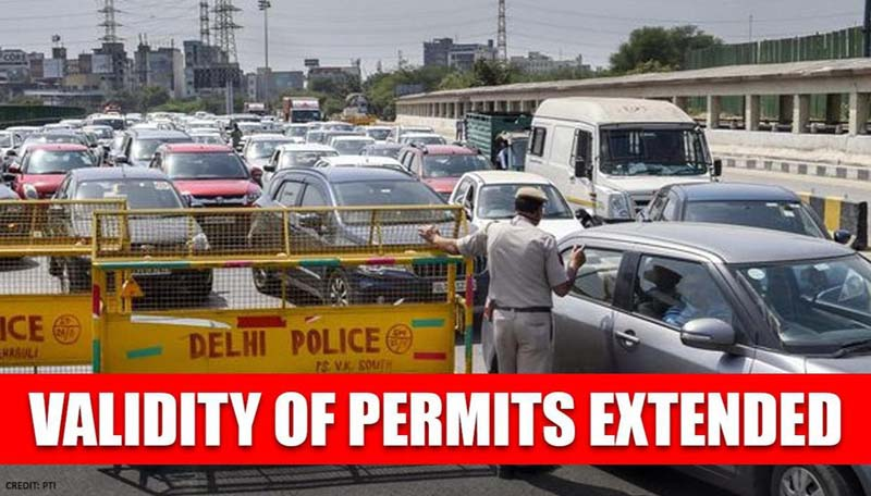Govt extends validity of vehicle permits till June 30