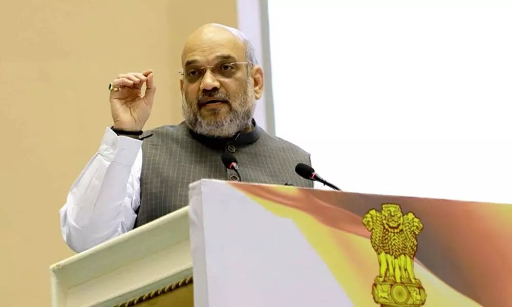 HM Amit Shah lays foundation for various developmental projects in Jammu