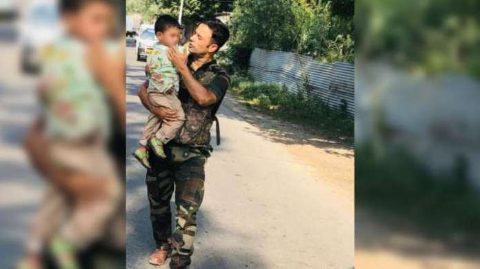 J&K Police rescue 3-year-old crying over grandfather's body following Sopore terrorist attack