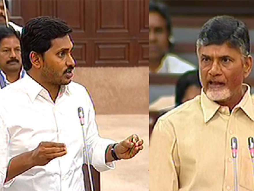 Chandrababu Naidu throws challenge in AP Assembly