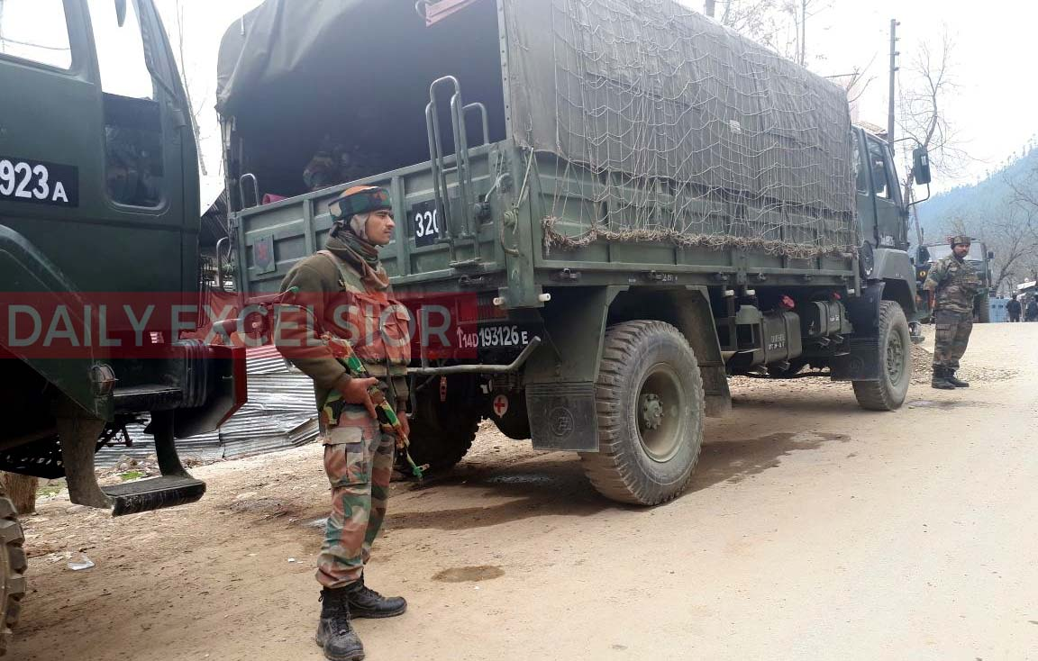Fresh firing between security forces, militants reported in Kupwara,J&K