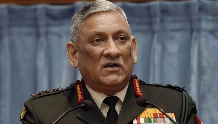 India looking to set up separate theatre command for J&K: CDS Gen Rawat
