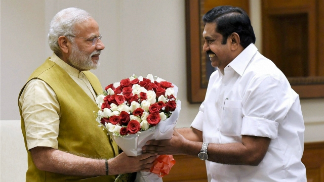 CM Palaniswami urges PM Modi to release drought relief funds