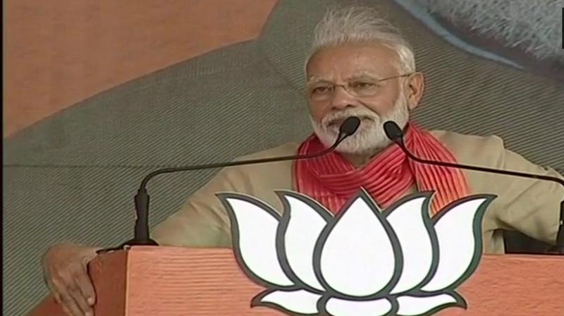 Congress spreading rumours over Article 370 in India: Modi