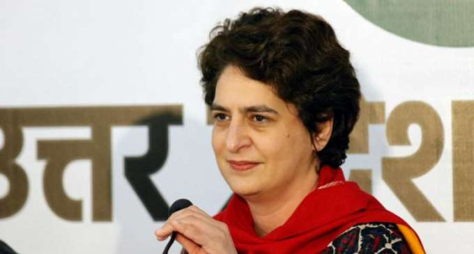 Everyone must join to fight water shortage: Priyanka Gandhi