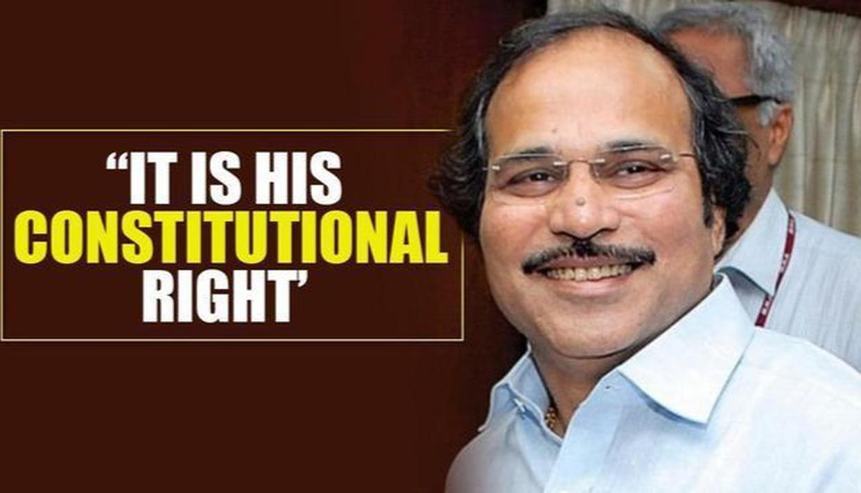 constitutionalrightoffarooqabdullahtoattendparliament:adhirchowdhury