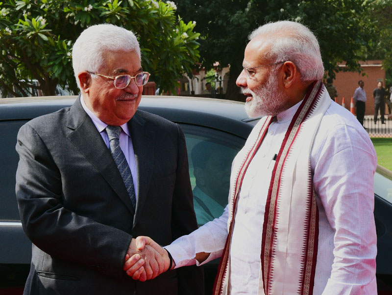 PM Modi, Palestine President Mahmoud Abbas to hold delegation level talks today