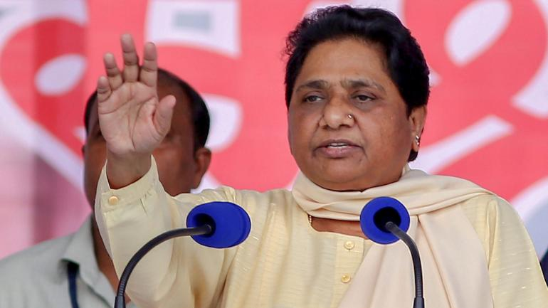 Mayawati attacks BJP, asks it to make public its source of funds during polls