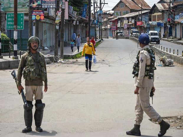 Situation in Kashmir peaceful: Officials