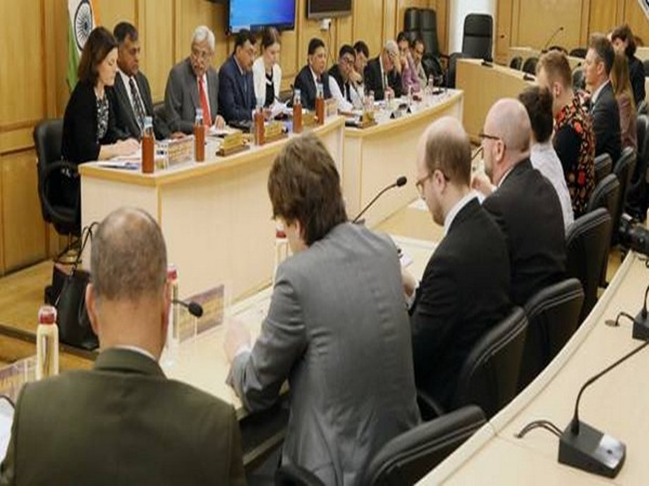 Sweden MP delegation visits the Election Commission of India