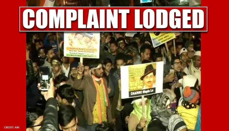 Complaint filed against Shaheen Bagh protesters for road blockade: Delhi Police