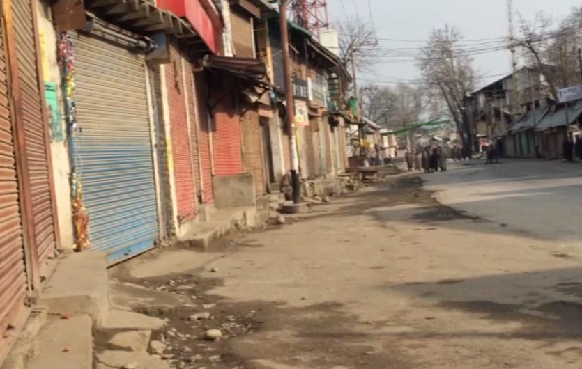 How a hoarding managed to bring an entire Pulwama town to a standstill