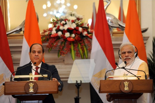 India,Egypt agree to step up counter-terrorism co-operation