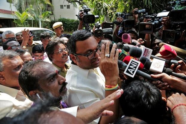 INX Media case: Delhi court sends Karti Chidambaram to jail till March 24