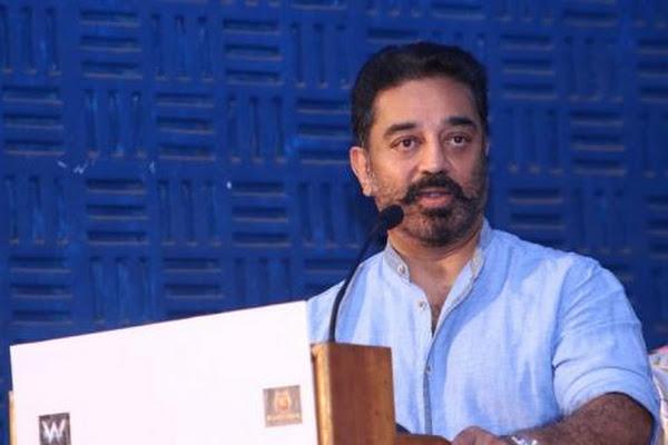 Chappals hurled at Kamal Haasan amid row over Nathuram Godse terrorist remark